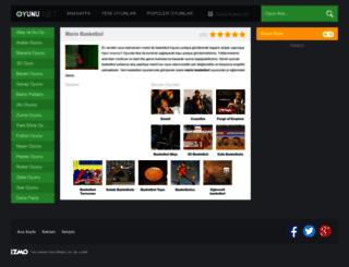 mariobasketbol.oyunu.net screenshot