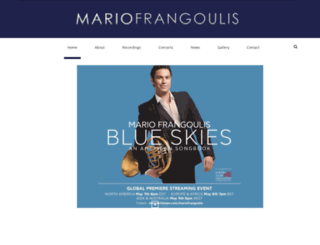 mariofrangoulis.com screenshot