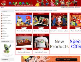mariomall.com screenshot