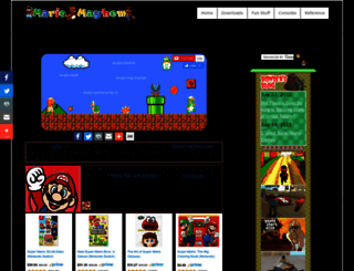 mariomayhem.com screenshot