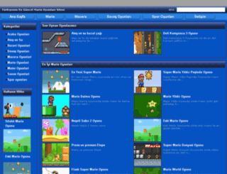 mariooyunlari2.com screenshot