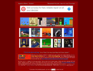 mariosonicgames.com screenshot