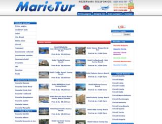 mariotur.ro screenshot