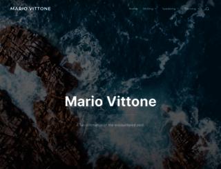 mariovittone.com screenshot