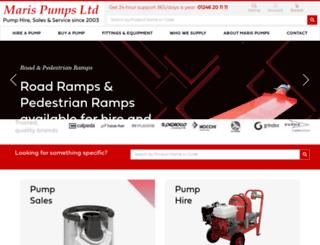 marispumps.com screenshot