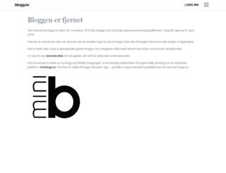 maritaknutsen.blogg.no screenshot