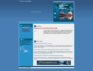 maritime.bernama.com screenshot