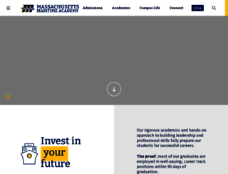 maritime.edu screenshot