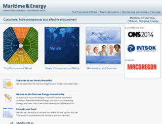 maritimeandenergy.com screenshot