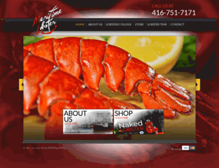 maritimelobster.ca screenshot