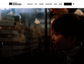 maritimemuseum.co.nz screenshot