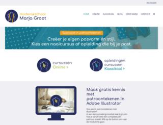 marjagroot.nl screenshot