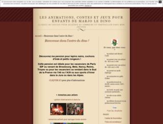 marjoledino.unblog.fr screenshot