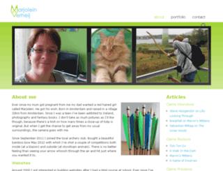 marjolein-verheij.com screenshot