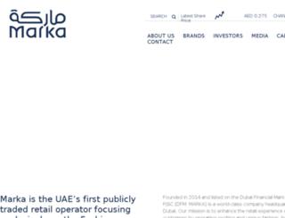 markaholding.com screenshot