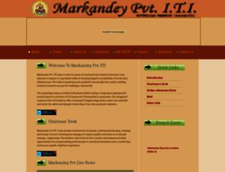 markandeypiti.com screenshot