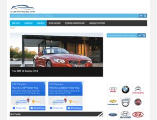 markaotomobil.com screenshot