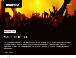 markcomedia.co.uk screenshot