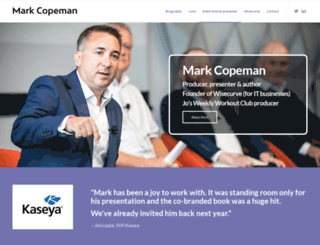 markcopeman.com screenshot