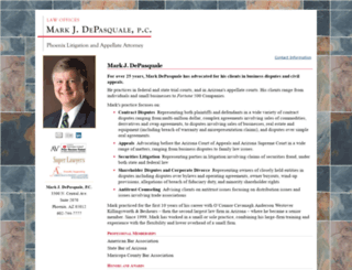 markdepasquale.com screenshot