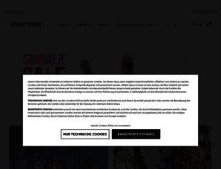 marke.chiemsee.com screenshot