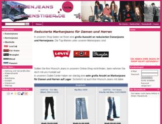 markenjeans-guenstiger.de screenshot