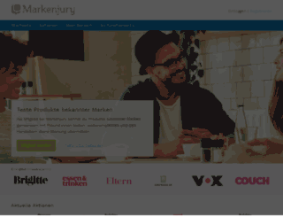 markenjury.com screenshot