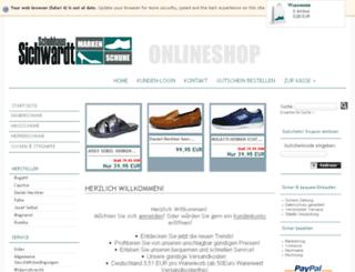 markenschuhe-sichwardt.de screenshot