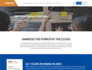 market-data.xignite.com screenshot