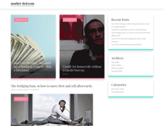 market-dcd.com screenshot