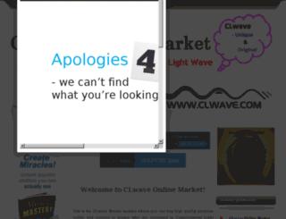 market.clwave.com screenshot