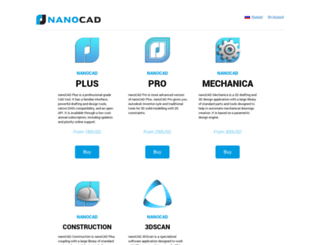 market.nanocad.com screenshot