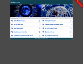market.zodaco.com screenshot