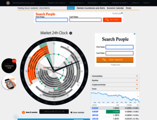 market24hclock.com screenshot