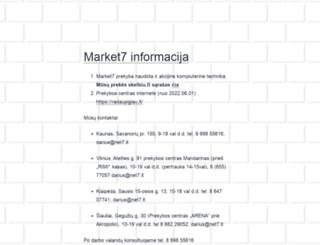 market7.lt screenshot