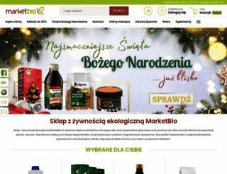 marketbio.pl screenshot