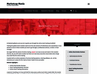 marketcapmania.com screenshot