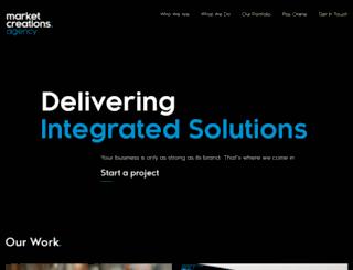 marketcreations.com.au screenshot