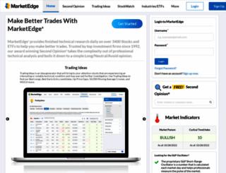 marketedge.com screenshot