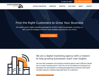marketeeringgroup.com screenshot