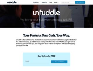marketer.unfuddle.com screenshot