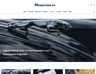 marketers.at screenshot