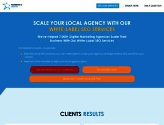 marketerscenter.com screenshot