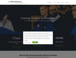 marketfactory.com screenshot