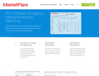 marketflare.com screenshot