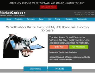 marketgrabber.net screenshot