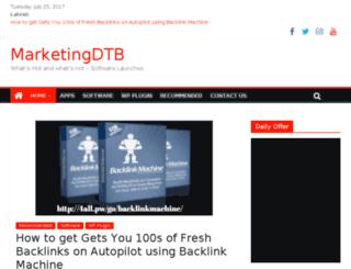 marketing-data.biz screenshot