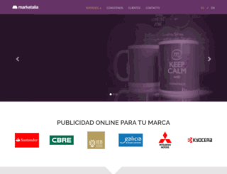 marketing-on-line.es screenshot