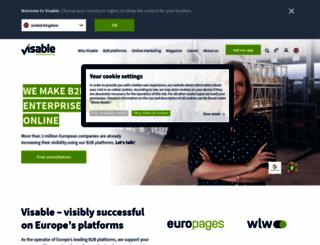 marketing-publicite-medias.europages.fr screenshot