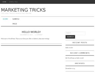marketing-tricks.com screenshot